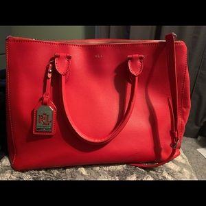 Ralph Lauren handbag.